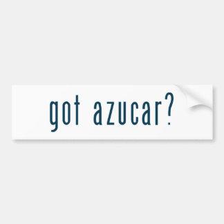 got azucar bumper stickers