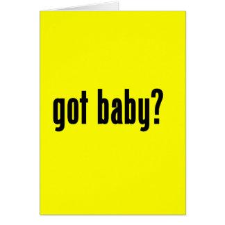 got baby? card