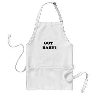 GOT BABY.png Adult Apron