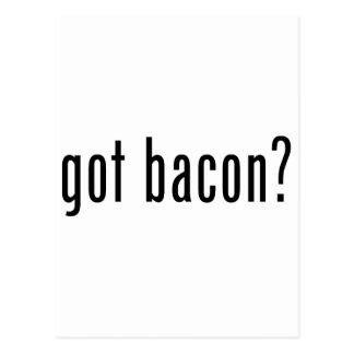 Got bacon postcard