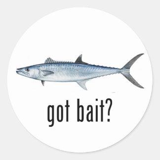 Got Bait? - King Mackeral Classic Round Sticker