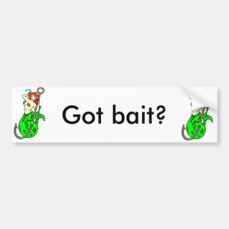 got bait mermaid bumper sticker