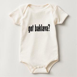 got baklava? baby bodysuit