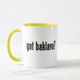 got baklava? mug