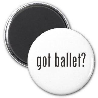 got ballet? 2 inch round magnet