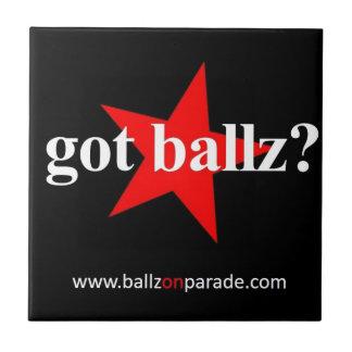 Got Ballz? Ceramic Tile