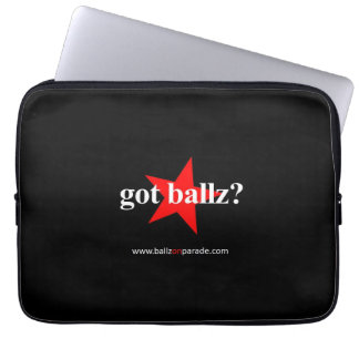 Got Ballz? Laptop Neoprene Sleeve Laptop Computer Sleeves