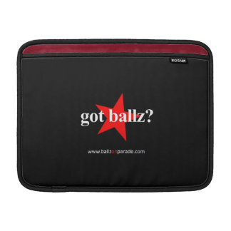 Got Ballz? Macbook Air Sleeve