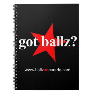 Got Ballz?  Notebook