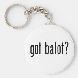 Got Balot Basic Round Button Keychain