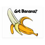 Got Banana Postcard