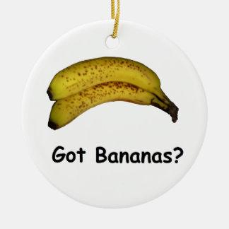 Got Bananas Ceramic Ornament