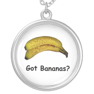 Got Bananas Silver Plated Necklace