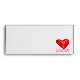 Got Bandaides Envelopes