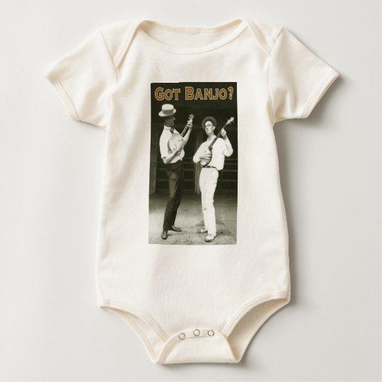 Got Banjo? Infant Organic Creeper
