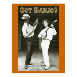 Got Banjo? Postcard