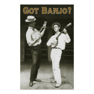 Got Banjo? Poster