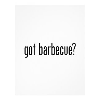 got barbecue flyer