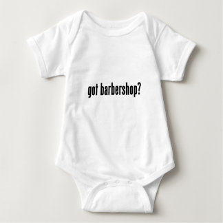 got barbershop? baby bodysuit