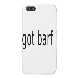 GOT BARF iPhone 5 COVER