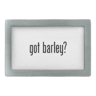 got barley belt buckles