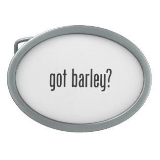 got barley oval belt buckles