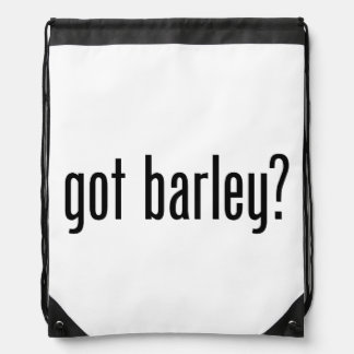 got barley drawstring backpacks