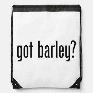 got barley drawstring backpack