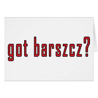 got barszcz? card