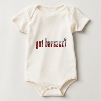 got barszcz? Flag Baby Bodysuit