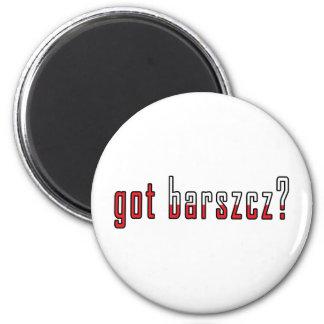 got barszcz? Flag Magnet