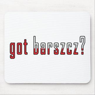 got barszcz? Flag Mouse Pad