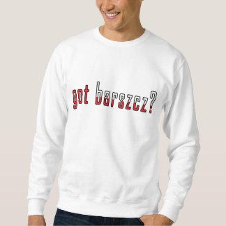 got barszcz? Flag Sweatshirt