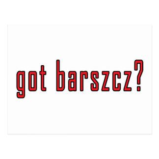 got barszcz? postcard