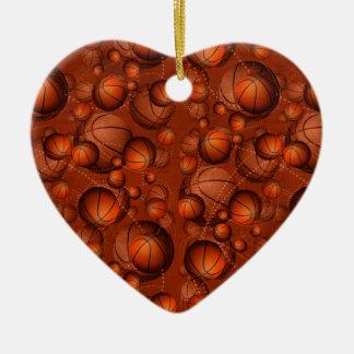 Got Basketballs? Ceramic Ornament