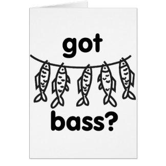 got bass card