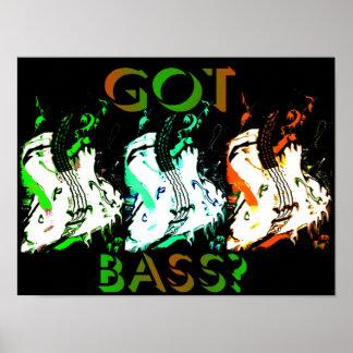 got bass neon poster