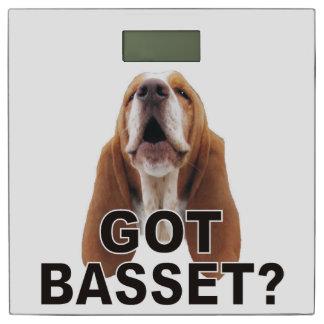 Got Basset? Basset Hound Bathroom Scale