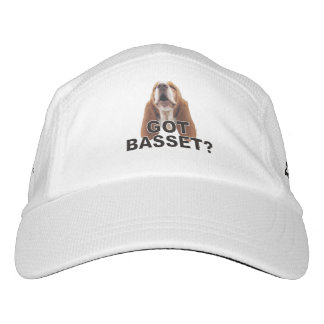 Got Basset? Basset Hound Headsweats Hat