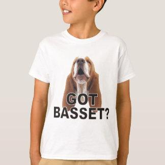 Got Basset? Howling Basset Hound Kids T Shirt