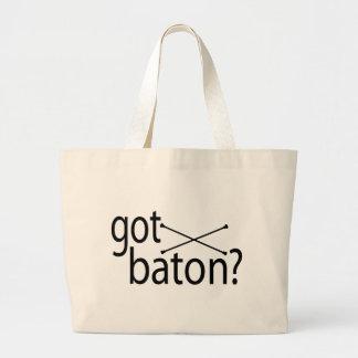 got baton tote bag