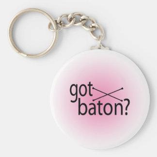 got baton? keychain