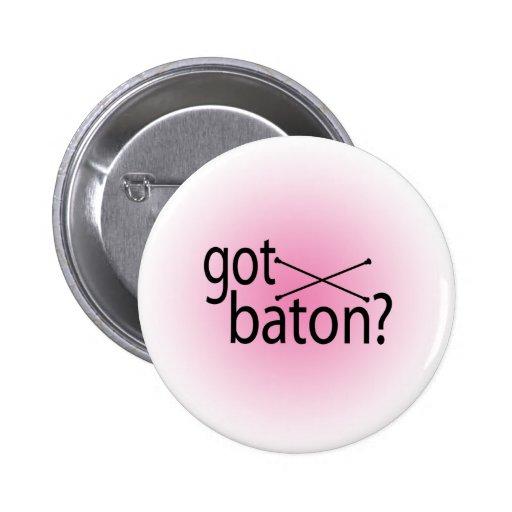 got baton? pinback buttons