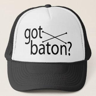 got baton? trucker hat