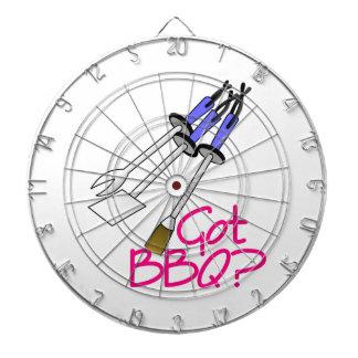 Got BBQ? Dartboard With Darts