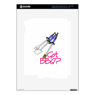 Got BBQ? Decals For iPad 3
