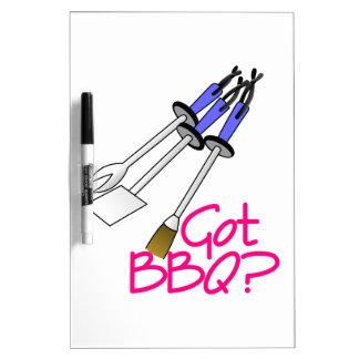 Got BBQ? Dry-Erase Board