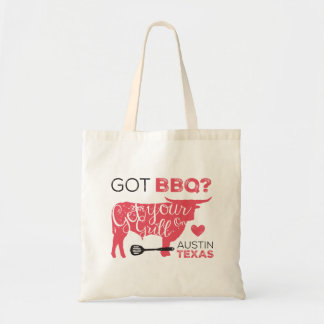 Got BBQ? Get Your Grill On Tote Budget Tote Bag