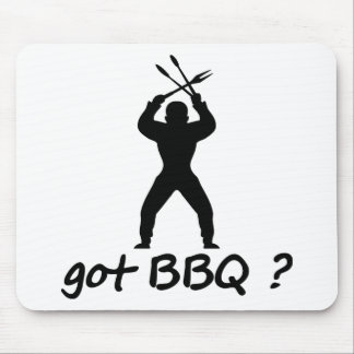 got BBQ? icon Mouse Pad