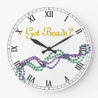 Got Beads? Large Clock